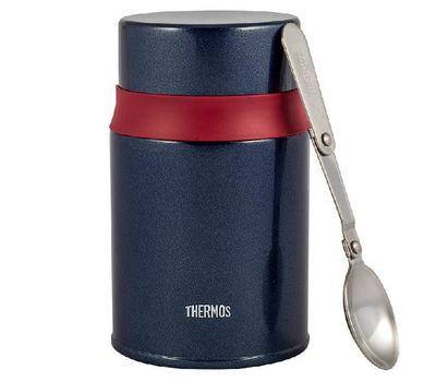 Термос для еды с широким горлом Thermos, с ложкой TCLD-520S, фото 1