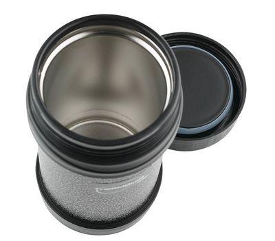 Термос для еды с широким горлом Thermocafe 500 мл, серый HAMJNL-500FJ, фото 2