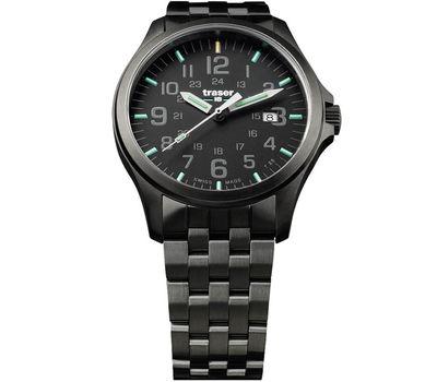 Часы Traser P67 Officer Pro GunMetal Black, сталь, фото 1