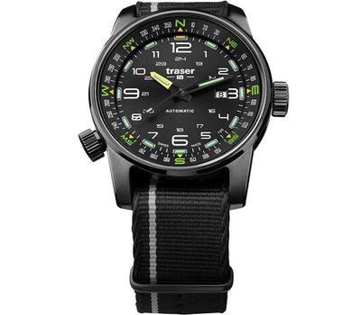 Часы Traser P68 Pathfinder Automatic Black, нато, фото 1