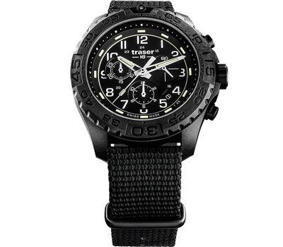 Часы Traser P96 OdP Evolution Chrono Black 108680 нато, фото 1