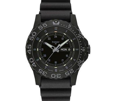 Часы Traser P 6600 Shade Sapphire, каучуковый ремешок, фото 1