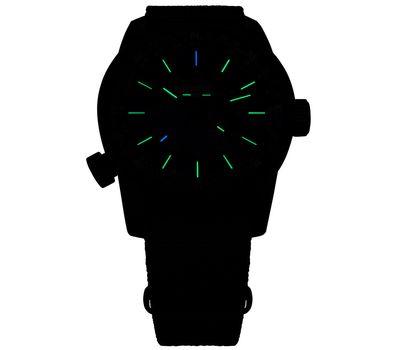 Часы Traser P68 Pathfinder GMT Blue, каучуковый ремешок, 109030, фото 3