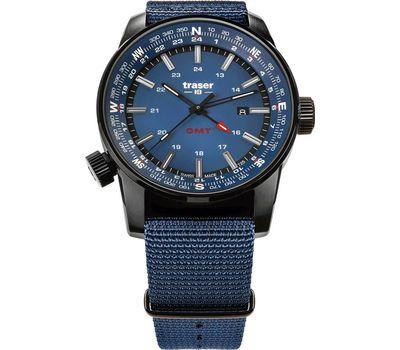 Часы Traser P68 Pathfinder GMT Blue, синий нато 109034, фото 1