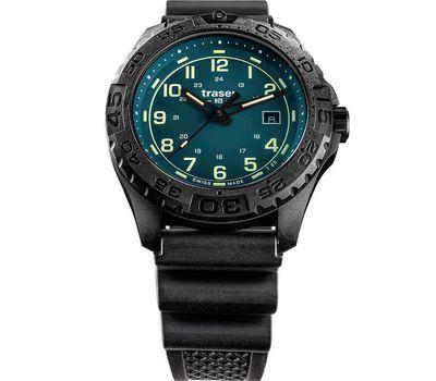 Часы Traser P96 OdP Evolution Petrol 109053 с каучуковым ремешком, фото 1