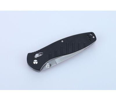 Складной нож Ganzo G738 BK, оранжевые накладки, сталь 440C