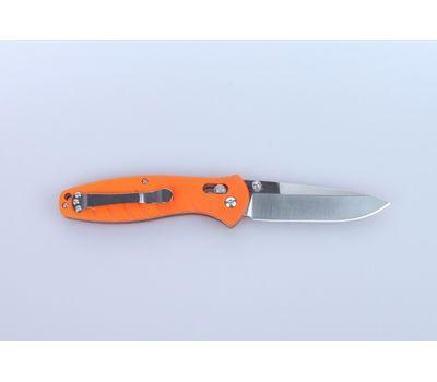 Складной нож Ganzo G738 OR, оранжевые накладки, сталь 440C