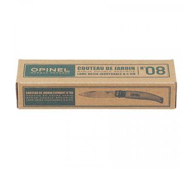Складной нож Opinel №8 , нержавеющая сталь,рукоять из бука