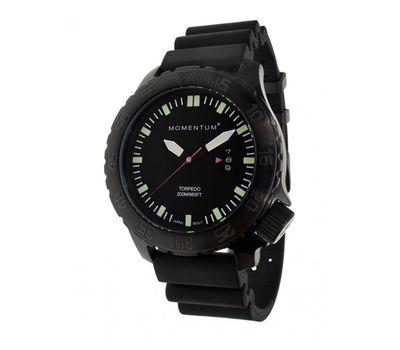 Часы Momentum Torpedo Black ION каучук
