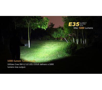 Светодиодный фонарь Fenix E35 Ultimate Edition 2016, 1000 люмен
