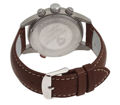 Часы Momentum Titan 3 White коричн. кожа, сапфир