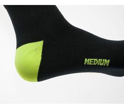 Водонепроницаемые носки Dexshell Ultralite Biking - лето, жёлто-чёрные, фото 3