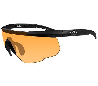 Стрелковые очки Wiley-X Saber Advanced 301 (светло-оранжевый), фото 2
