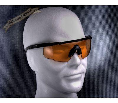 Стрелковые очки Wiley-X Saber Advanced 301 (светло-оранжевый), фото 3