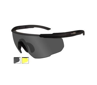 Стрелковые очки Wiley-X Saber Advanced 305 (желтый / серый), фото 2