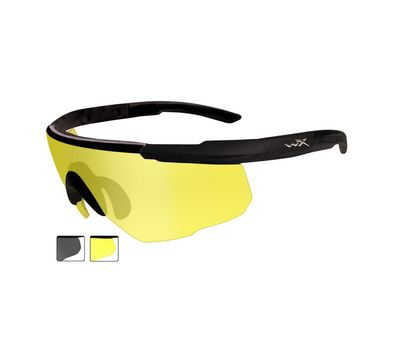 Стрелковые очки Wiley-X Saber Advanced 306 (серый / желтый), фото 2