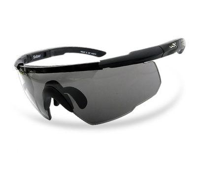 Стрелковые очки Wiley-X Saber Advanced 308 (серый / чистый / желтый), фото 2