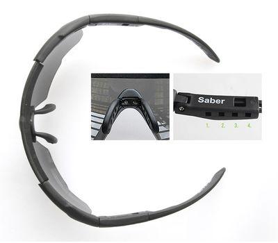 Стрелковые очки Wiley-X Saber Advanced 308 (серый / чистый / желтый), фото 3