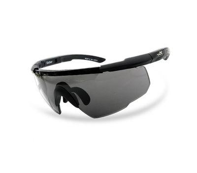 Стрелковые очки Wiley-X Saber Advanced 305 (желтый / серый), фото 3