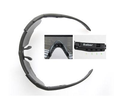 Стрелковые очки Wiley-X Saber Advanced 306 (серый / желтый), фото 4