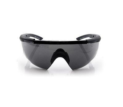 Стрелковые очки Wiley-X Saber Advanced 305 (желтый / серый), фото 5