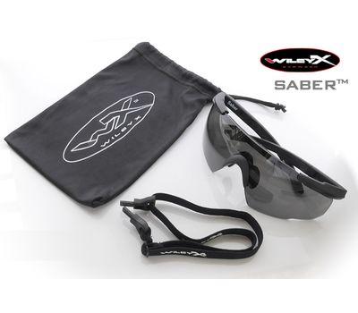 Стрелковые очки Wiley-X Saber Advanced 308 (серый / чистый / желтый), фото 5