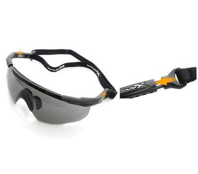 Стрелковые очки Wiley-X Saber Advanced 305 (желтый / серый), фото 6