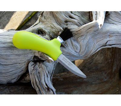Нож грибника Mora Morakniv Karl Johan Mushroom, салатовый