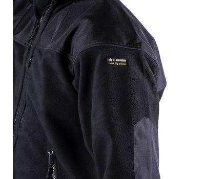 Куртка Штурм, чёрная - мембрана, флис, кордура, фото 7