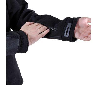 Куртка Штурм, чёрная - мембрана, флис, кордура, фото 8