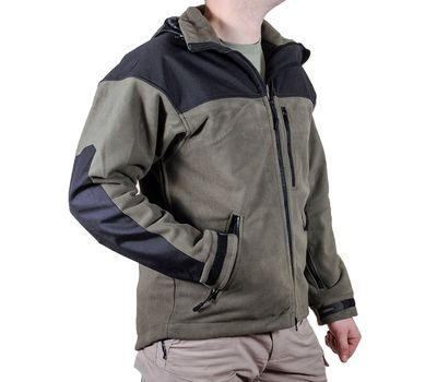 Куртка Штурм, olive. Мембрана, флис, кордура, фото 3