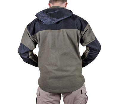 Куртка Штурм, olive. Мембрана, флис, кордура, фото 4