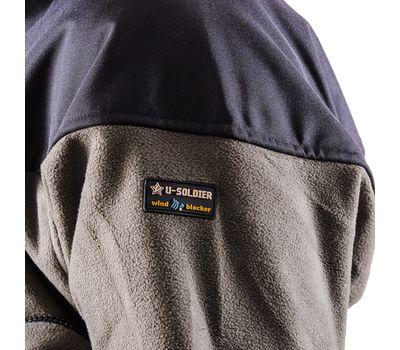 Куртка Штурм, olive. Мембрана, флис, кордура, фото 8