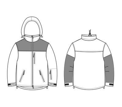 Куртка Штурм, olive. Мембрана, флис, кордура, фото 9