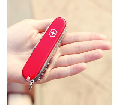 Швейцарский нож Victorinox Handyman 1.3773, красный с фиксатором