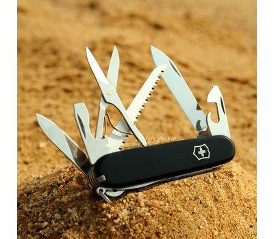 Швейцарский нож Victorinox Huntsman 1.3713.3, черный, 15 функций