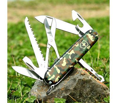Швейцарский нож Victorinox Huntsman 1.3713.94, камуфляж, 15 функций