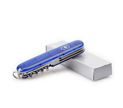 Швейцарский нож Victorinox Spartan 1.3603.T2, прозрачно синий, 12 функций