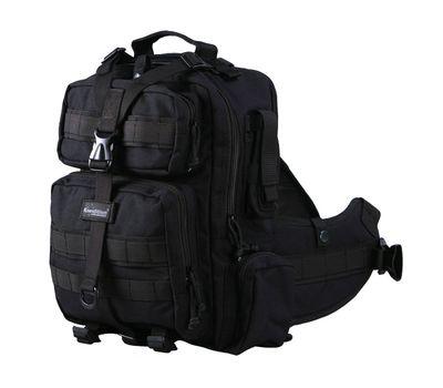 Однолямочный рюкзак Kiwidition Tonga черный
