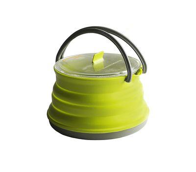 Складной силиконовый чайник с жестким дном Sea to Summit Xpot Kettle 1.3 L, фото 1