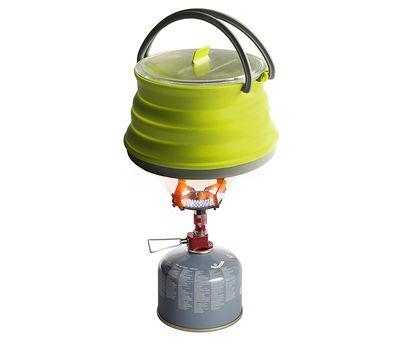 Складной силиконовый чайник с жестким дном Sea to Summit Xpot Kettle 1.3 L, фото 4