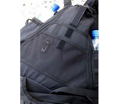 Однолямочный тактический рюкзак Kiwidition Maura, черный