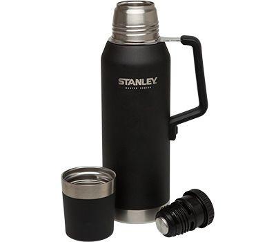 Термос Stanley Master Vacuum Bottle 1.3L, чёрный