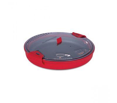 Складная силиконовая кастрюля с жестким дном Sea to Summit X-Pot 4.0 Red, фото 2