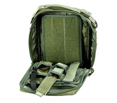 Наплечная сумка Kiwidition Wapi, чёрная