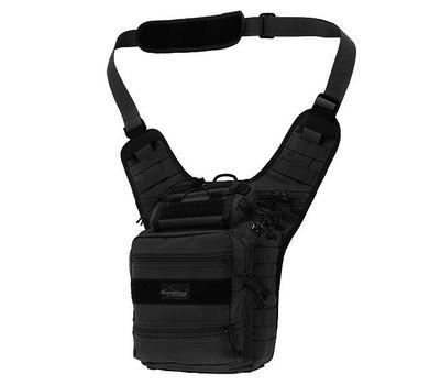 Наплечная сумка Kiwidition Moa, чёрная