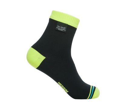 Водонепроницаемые носки Dexshell Ultralite Biking - лето, жёлто-чёрные