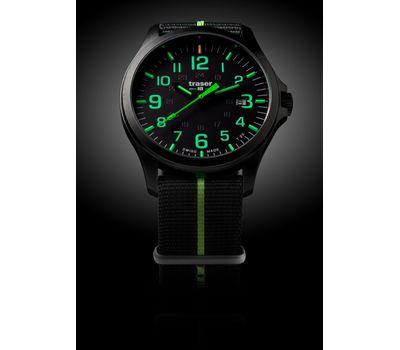 Часы, Traser, P67, Officer Pro, GunMetal, Black, Lime