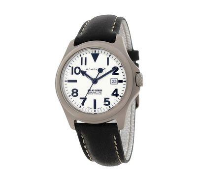 Часы Momentum Atlas Ti Lum сапфировое стекло, кожа