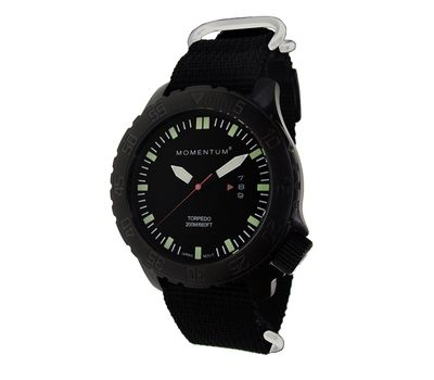 Часы Momentum Torpedo Black ION нато